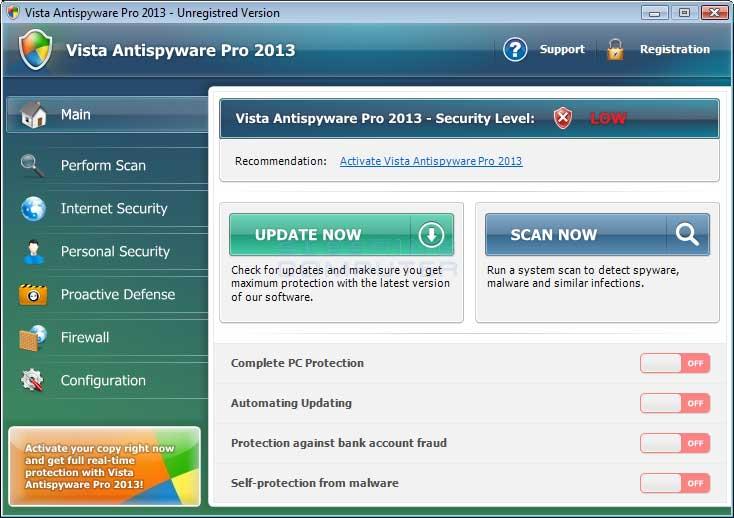 Remove vista antispyware pro 2013 uninstall guide for Vista pri