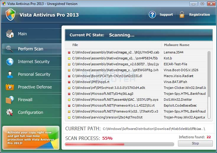 Remove Vista Antivirus Pro 2013 (Uninstall Guide)
