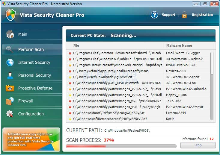 How to remove Vista Security Cleaner Pro (Uninstall Guide)