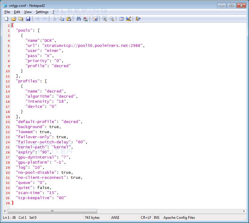 Vnlgp Config File