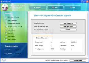 VirusIsolator Image