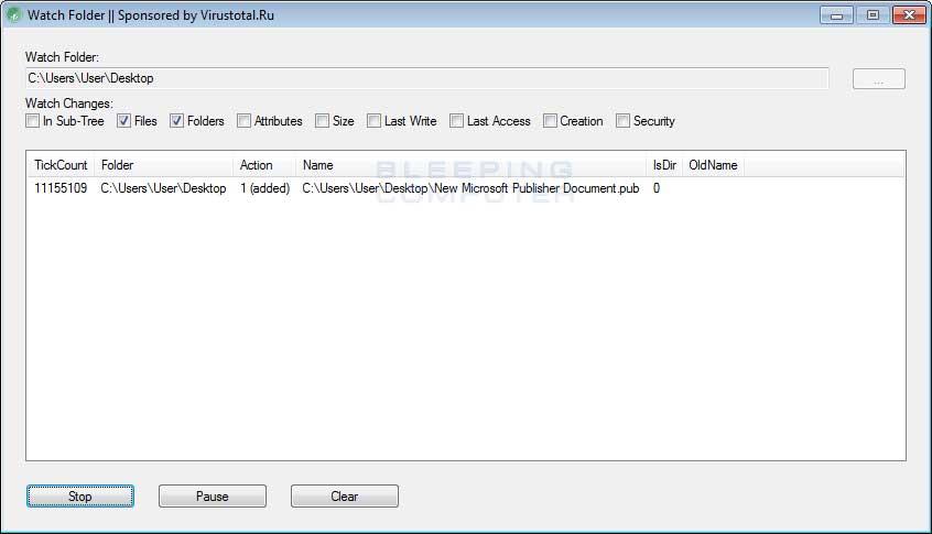 Watch Folder Trojan
