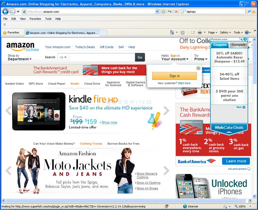 WebCake Deals on Amazon.com