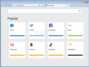 Webstarts.biz Screenshot