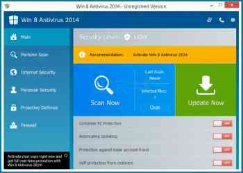 Win 8 Antivirus 2014 Image