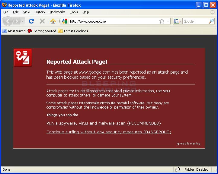 Firefox Hijack