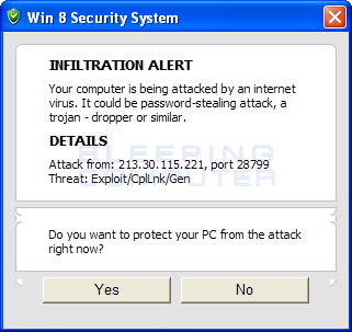 Fake Infiltration Alert