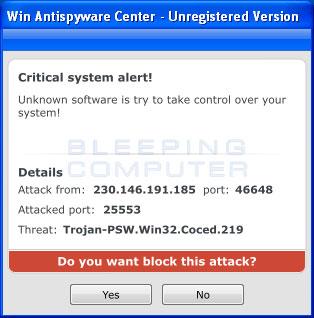 Critical System Alert