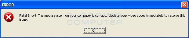 False alert for WinCodecPro