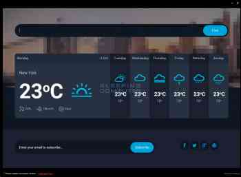 WindoWeather Screenshot
