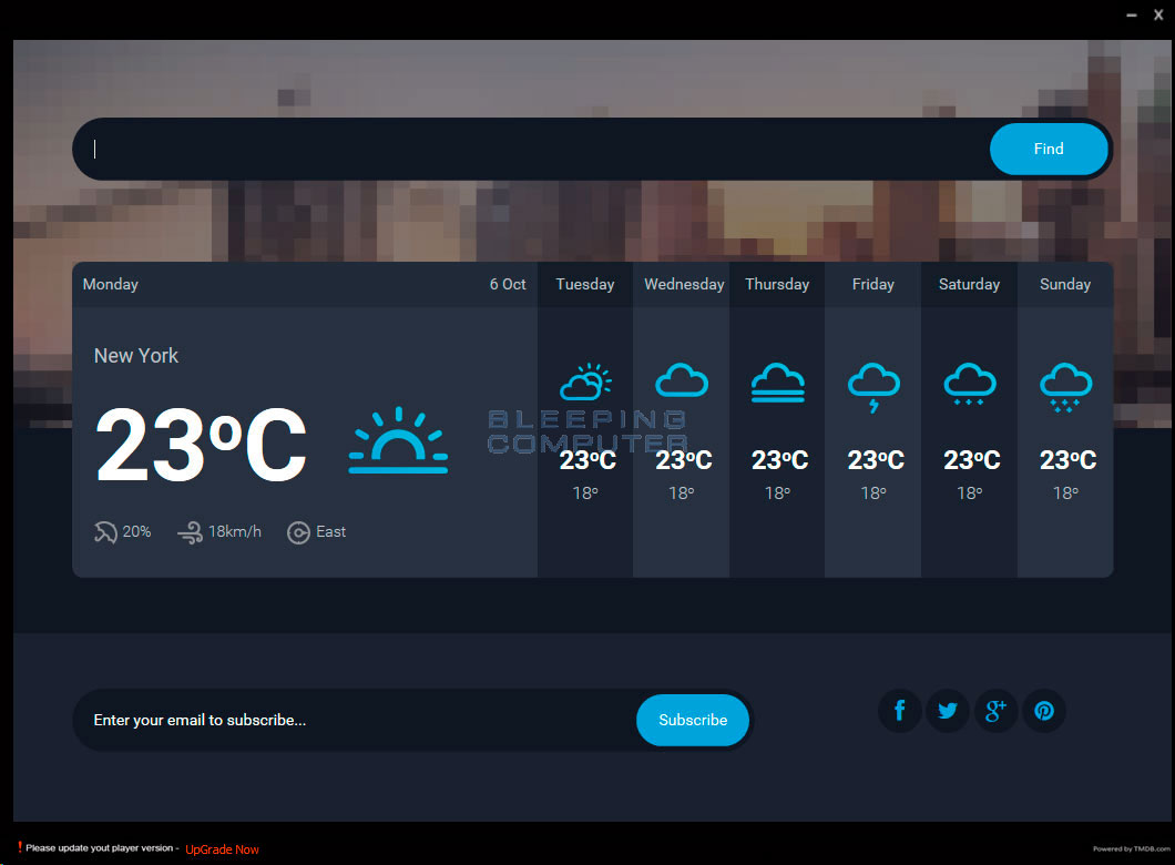 WindoWeather Screen Shot