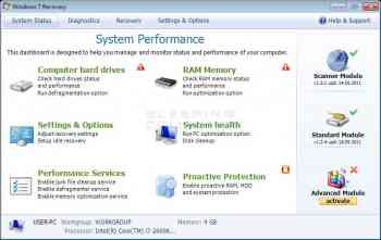 Windows 7 Recovery Image