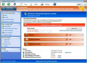 Windows AntiVirus Adviser Image