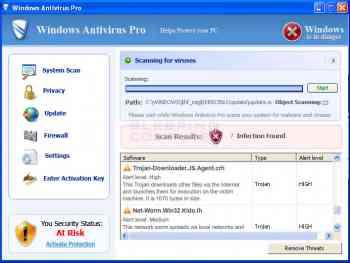 Windows Antivirus Pro Image