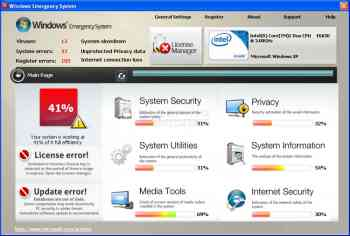 Windows Emergency System Image