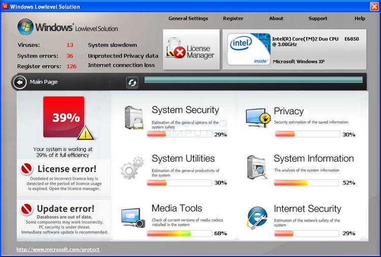 Windows Lowlevel Solution  screen shot