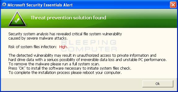 Solution found alert