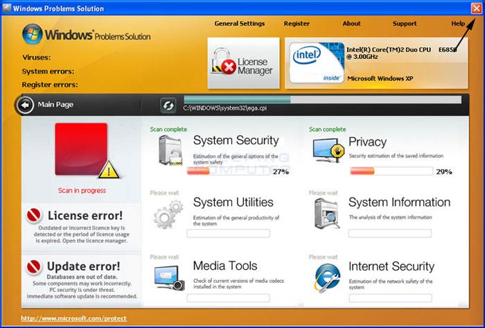 <strong>Windows Problems Solution</strong> start screen