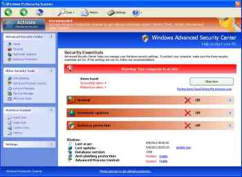 Windows ProSecurity Scanner Image