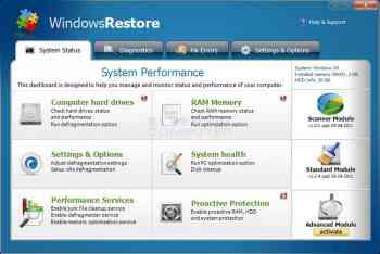 Windows Restore Image