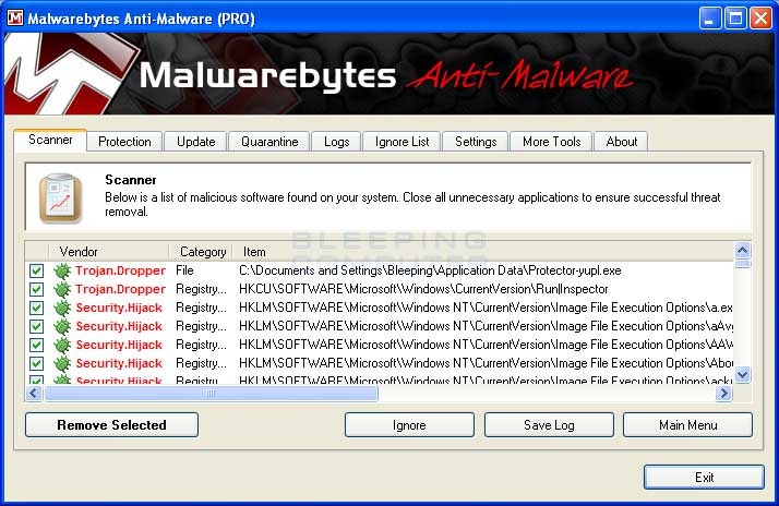 Windows ultimate security patch virus software