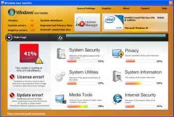 Windows User Satellite Image