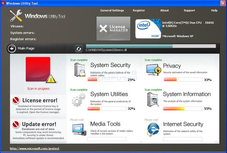 Windows Utility Tool screen shot