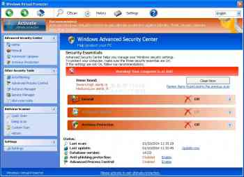 Windows Virtual Protector Image