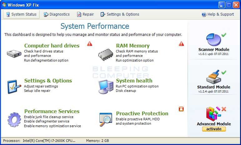 Repair Windows Vista Without System Restore