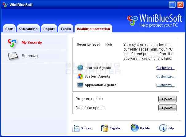 WiniBlueSoft image