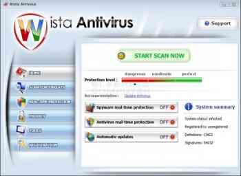 Wista Antivirus Image