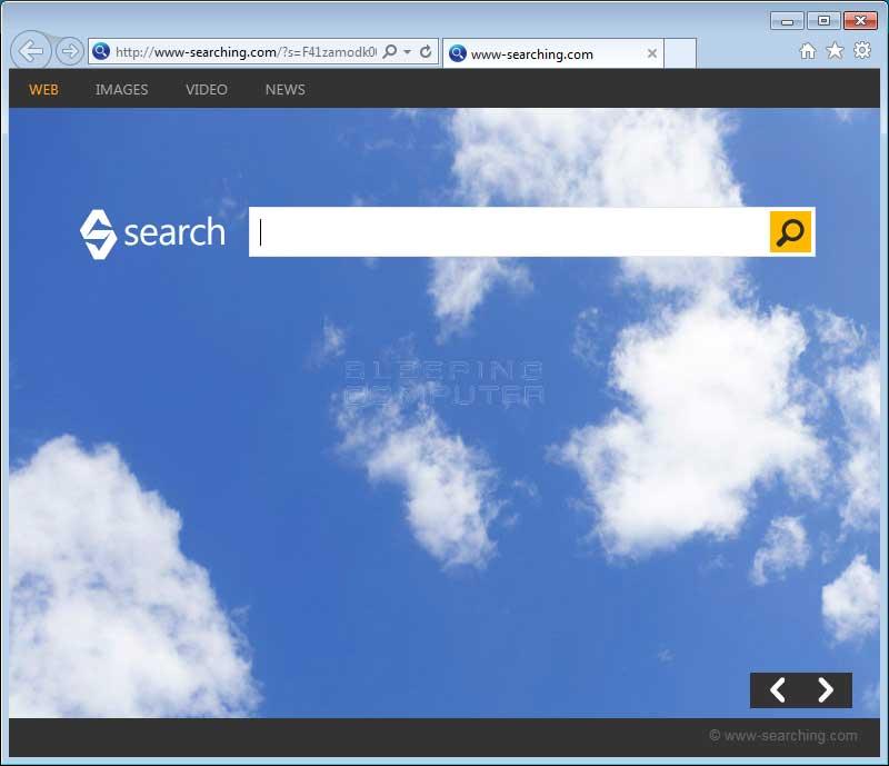 Www-searching.com hijack