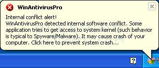 WinAntivirusPro Fake Alert