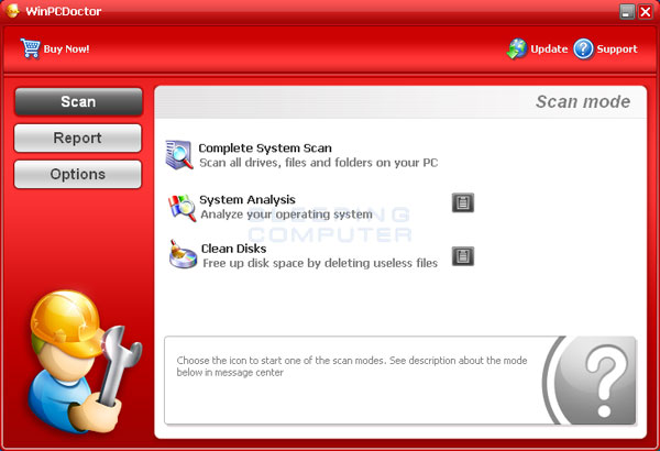 WinPCDoctor Screenshot