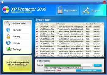 XP Protector 2009 Image