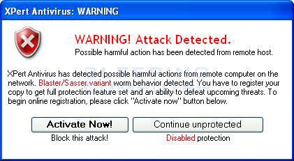 antivirus sasser