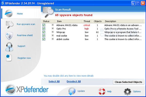 XPDefender Screenshot