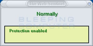 The Web Sentinel screen shot
