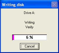 How to create a floppy boot disk in Windows