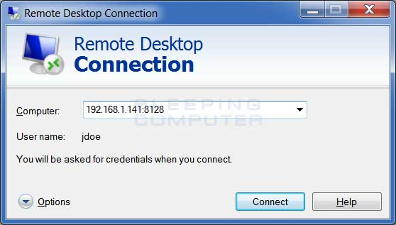 Windows Remote Desktop Client