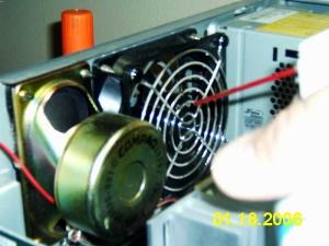 Cleaning a Fan