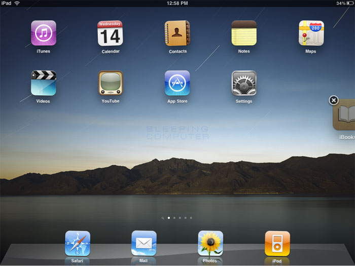 How to rearrange icons or move icons from one home screen for Best home screen wallpaper for ipad