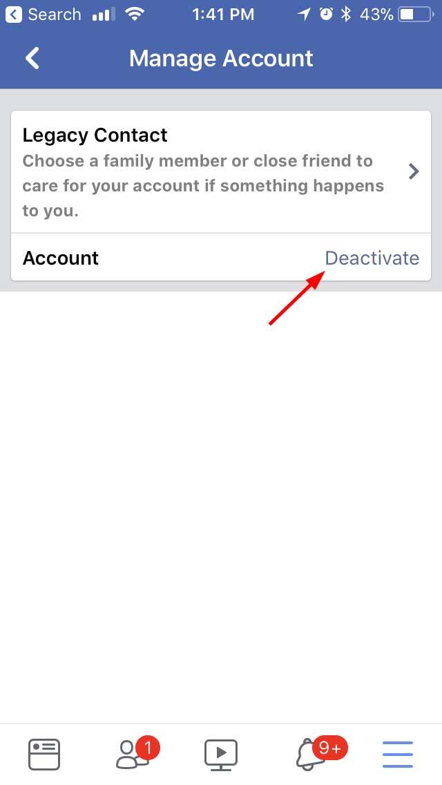 how to deactive wish acount
