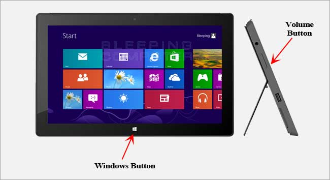 How To Take A Screenshot On Microsoft Surface