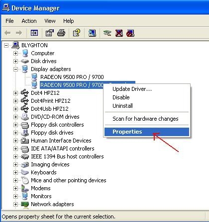 How to update a Windows hardware driver