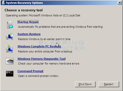 Windows Vista Cache Memory
