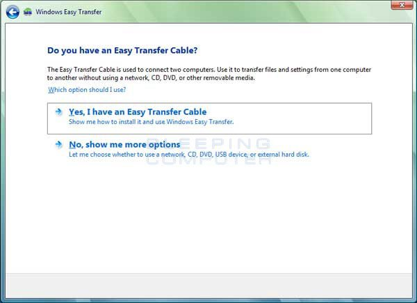 Do we have an easy transfer cable