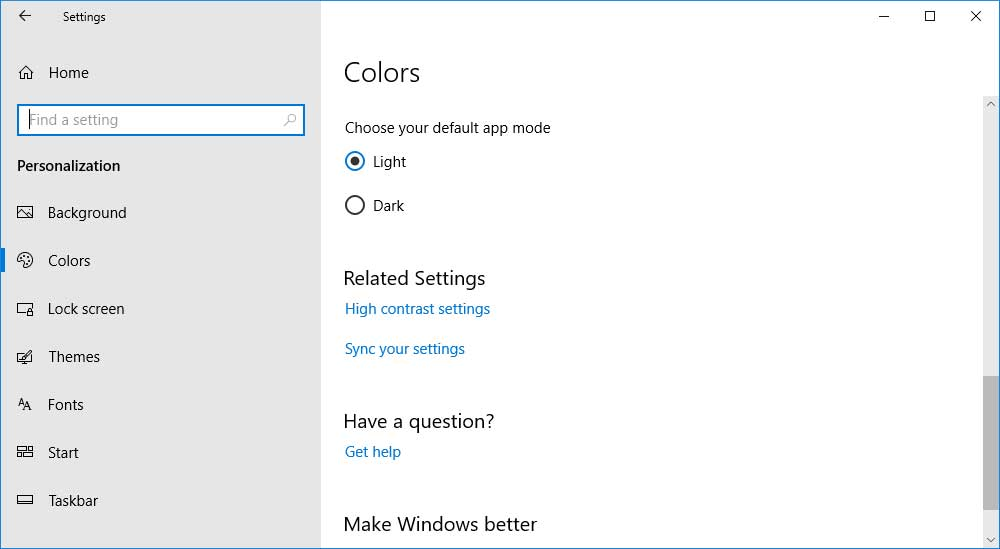 How to Enable the Dark Mode Theme in Windows 10