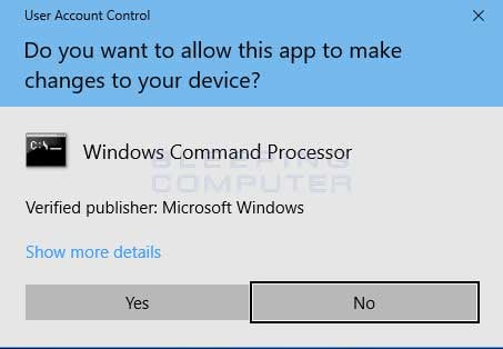 How to open a Windows 10 Elevated Command Prompt