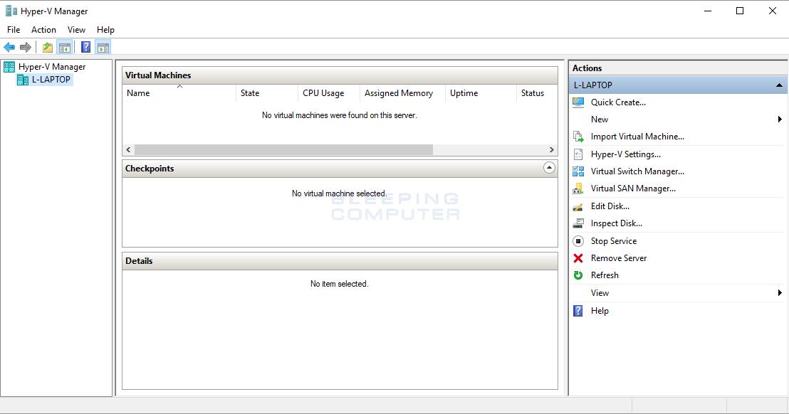 How to Install Hyper-V in Windows 10